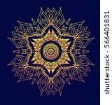 creative mandala logo design...   Shutterstock .eps vector #566401831