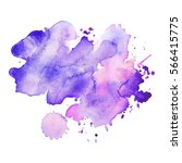 abstract hand drawn watercolor... | Shutterstock .eps vector #566415775