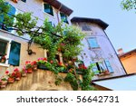 Picturesque Old House In Italy