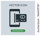 atm vector icon | Shutterstock .eps vector #566439787