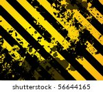 black and yellow grunge... | Shutterstock .eps vector #56644165