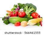 fresh vegetables | Shutterstock . vector #566461555