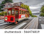 Famous cable car of san...