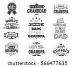 isolated grandfathers quotes on ... | Shutterstock .eps vector #566477635