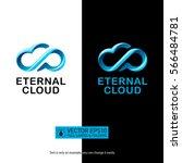 creative eternity cloud logo...