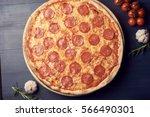 pizza   Shutterstock . vector #566490301