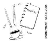 Notebook Doodle  Primitive...