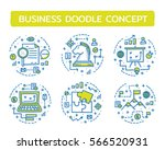 doodle vector illustrations of... | Shutterstock .eps vector #566520931