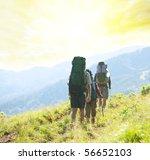 hikers | Shutterstock . vector #56652103