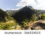 Summer Mountain Peak Green ...