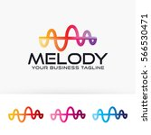 melody. art  wave  colorful ...