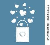 cute vector illustration of... | Shutterstock .eps vector #566533111