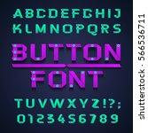 font  vector illustration. a... | Shutterstock .eps vector #566536711