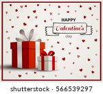 vector illustration of a happy... | Shutterstock .eps vector #566539297