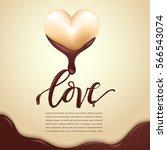 happy valentines day elements   ... | Shutterstock .eps vector #566543074