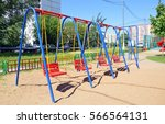 Swing On The Playground In The...