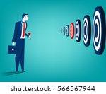 businessman and multiple... | Shutterstock .eps vector #566567944