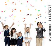 Group Kids Party Event Festive - Fine Art prints