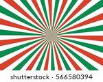 Sunburst Background  Green Red...