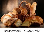 composition with variety of... | Shutterstock . vector #566590249