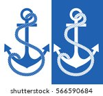 pattern anchor. vector... | Shutterstock .eps vector #566590684