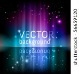 vector shiny background | Shutterstock .eps vector #56659120