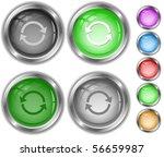 recycle symbol. vector internet ... | Shutterstock .eps vector #56659987