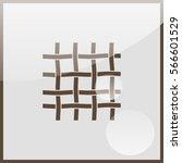 wire mesh icon. | Shutterstock .eps vector #566601529