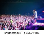 blurry background of rap music... | Shutterstock . vector #566604481