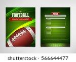 american football poster ...   Shutterstock .eps vector #566644477