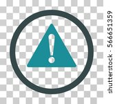 warning rounded icon. vector...