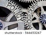 macro photo of tooth wheel... | Shutterstock . vector #566653267