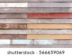 antique wooden wall texture in... | Shutterstock . vector #566659069