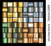 set of different metals... | Shutterstock .eps vector #566661889