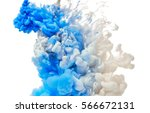 inks. acrylic colors in water... | Shutterstock . vector #566672131