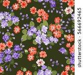 elegant gentle trendy pattern... | Shutterstock .eps vector #566692465