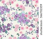 elegant gentle trendy pattern... | Shutterstock .eps vector #566702359