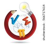 funny math concept....   Shutterstock .eps vector #566717614