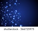 abstract geometric vector... | Shutterstock .eps vector #566725975