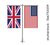 great britain and united states ... | Shutterstock .eps vector #566753359