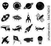 set of vector icons. air...