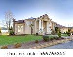 mediterranean style luxury... | Shutterstock . vector #566766355