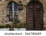 stone old city jaffa in tel aviv   Shutterstock . vector #566780689