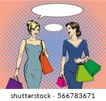 vector illustration of women... | Shutterstock .eps vector #566783671