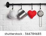 kitchen utensils  felt heart on