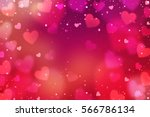 Stock photo hearts valentine s day abstract background with hearts 566786134