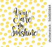 seamless pattern with  sunshine ... | Shutterstock .eps vector #566803864