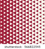 abstract red geometric hipster... | Shutterstock .eps vector #566822545