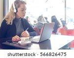 study girl student | Shutterstock . vector #566826475