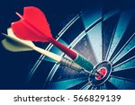 dart is an opportunity ... | Shutterstock . vector #566829139